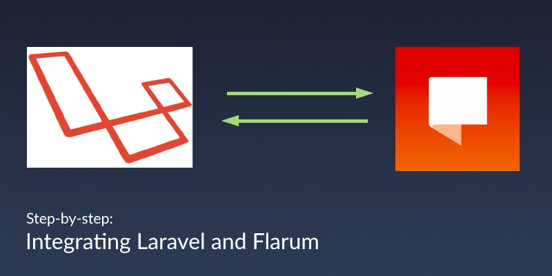Integrating Laravel and Flarum